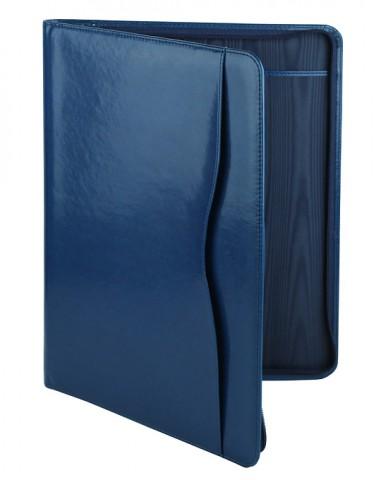 Папки для документов кожаные - изготовление деловых папок - папки на молнии, папки для конференций